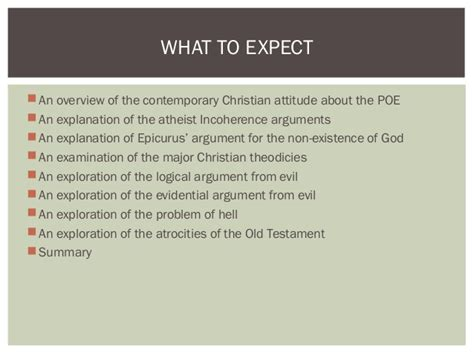 Problem Of Evil Essay by The Philosophical Problem Of Evil