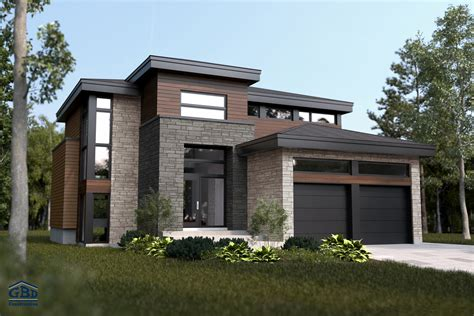 maison a 1 manhattan maison neuve 224 deux 233 tages de type cottage gbd construction