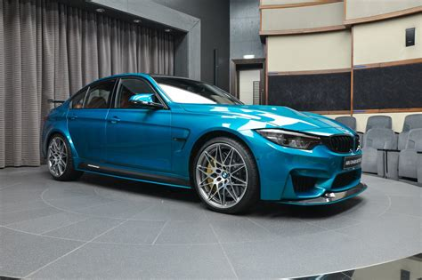 Atlantis Blue Bmw M3 Looks Astonishing With M Performance
