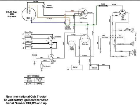 International Alternator Wiring Diagram by 4020 12 Volt Alternator Wiring Diagram Wiring Forums