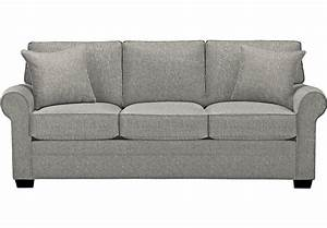 Cindy Crawford Home Bellingham Gray Sofa - Sofas (Gray)