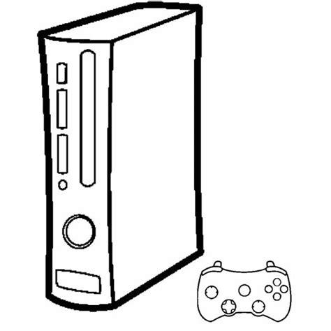 disegni da colorare videogiochi disegno di console giochi da colorare per bambini