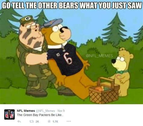Bears Cowboys Meme - november 9 2014chicago bears green bay packers score 14 55photo by