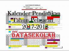 Kalender Pendidikan Tahun Pelajaran 20172018 Informasi