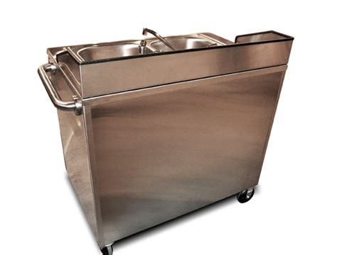 portable stainless steel sink cart stainless steel sink cart concession carts pinterest