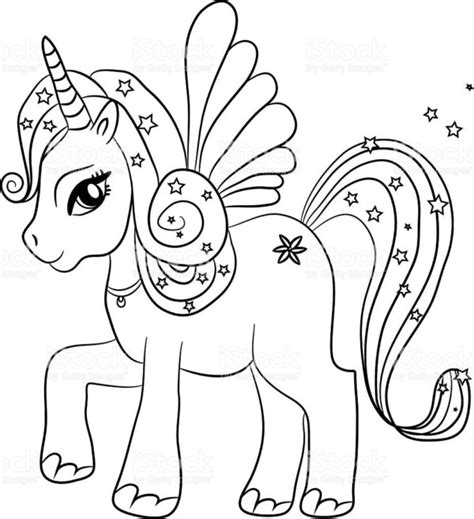Unicorn Lol Free Colouring Pages