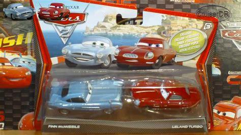 disney pixar cars  pack finn mcmissile leland turbo