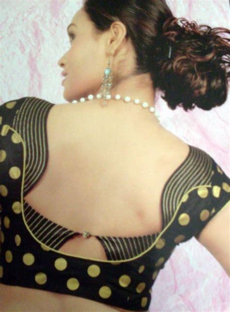 saree blouse neck design design patterns  blouses
