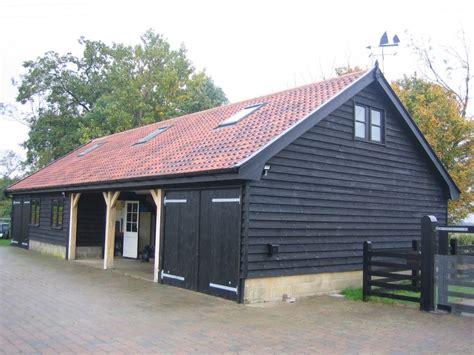 Garage Farm by Garage Workshop With Studio Above Architectural Building