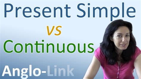 Present Simple Vs Present Continuous  Learn English Tenses (lesson 1) Youtube