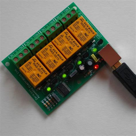 Usb Relay Controller Board Channels For Home Automation