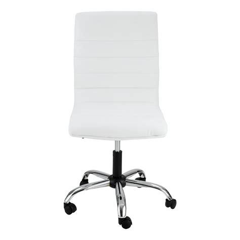 chaise de bureau blanche chaise de bureau blanche zoé mooviin