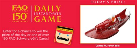 Shop our range of toys sale at myer. FAO Schwarz Instant Win Game: Win Toys & FAO Schwarz Gift Cards (150+ Winners!) - Hip2Save