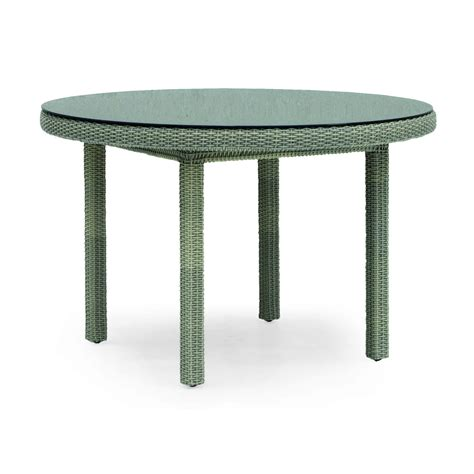 table de jardin resine tressee table basse ronde resine tressee ezooq