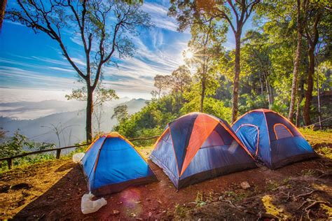 angeles camping campsites tents awesome close hour shutterstock