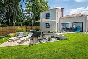 nos realisations de jardin et amenagement d39exterieur en With amenagement de terrasse exterieur 11 terrasse piscine galets