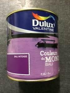 Peinture Dulux Valentine Couleur Du Monde : couleur du monde 0 5 litre dulux valentine bali intense ~ Dailycaller-alerts.com Idées de Décoration