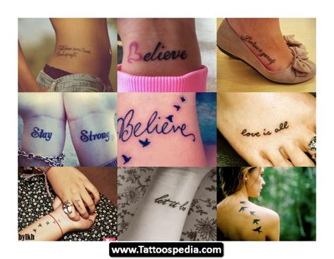 foot tattoo designs inspirational quotes quotesgram
