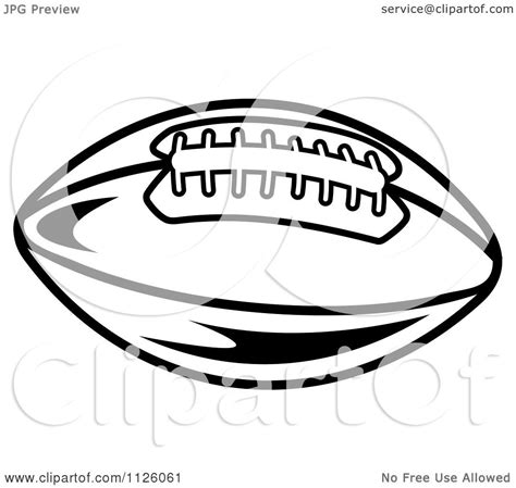 american football vector black and white clipart of a black and white american football 4 royalty