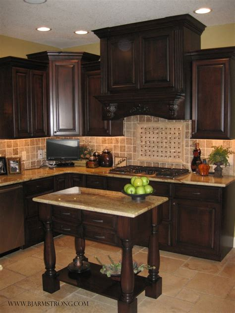 custom kitchen backsplash custom kitchen cabinets island with granite countertops