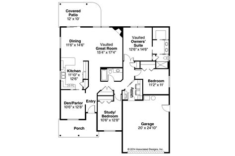narrow house plans with garage ranch house plans eastford 30 925 associated designs