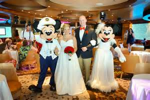cruise weddings disney cruise wedding details