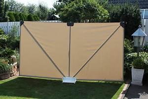 leco mobiler sichtschutz natur masse 300 cm x 37 real With französischer balkon mit mobiler sichtschutz garten