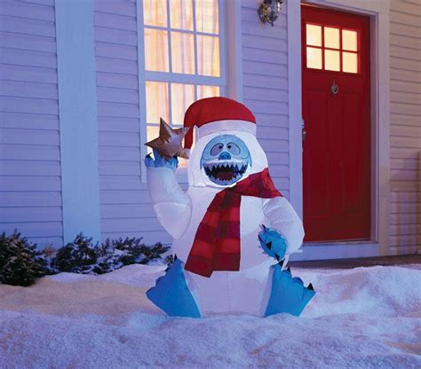 buy gemmy christmas inflatable bumble  lowest price  discount lifeandhomecom