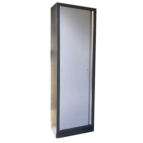 tall single door cabinet single door tall cabinet powder coated steel garage