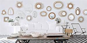 Miroir De Salon : 7 fa ons d agrandir l espace avec un miroir marie claire ~ Teatrodelosmanantiales.com Idées de Décoration