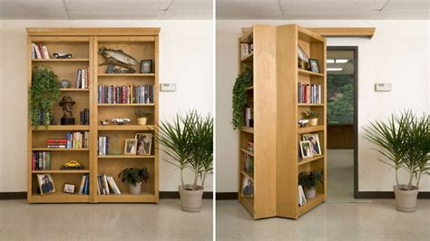 Passage Bookcase by Four Words Secret Folding Bookshelf Door Gizmodo