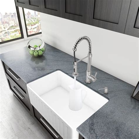 depth kitchen sink vigo industries vgra3018cs 30 inch matte single bowl 3663