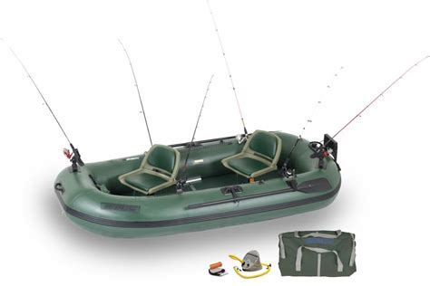 Cheapest Small Pontoon Boats by Sea Eagle Sts10 2 Person Fishing Boats Package