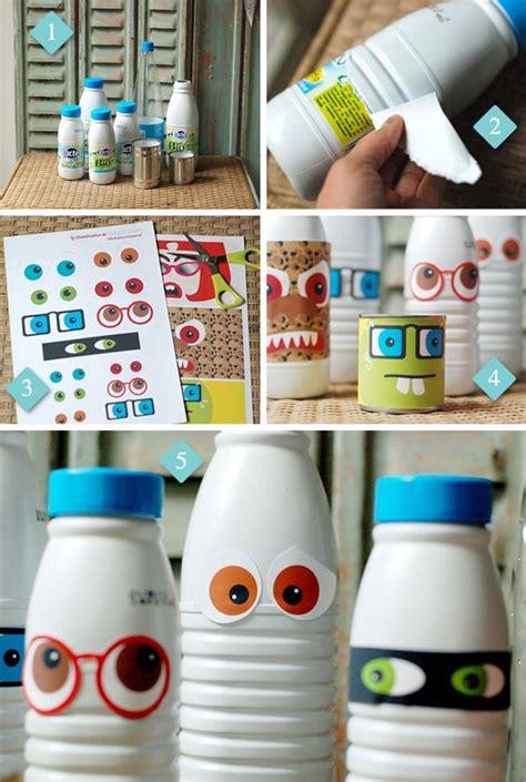 fabriquer une le avec une bouteille 1000 id 233 es sur le th 232 me bouteilles de lait en plastique sur bouteilles de lait