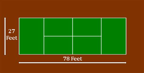 The size of the area varies from tennis club to tennis club and from tournament to tournament. Tennis at the Summer Olympics - Men's singles - Wikipedia ...