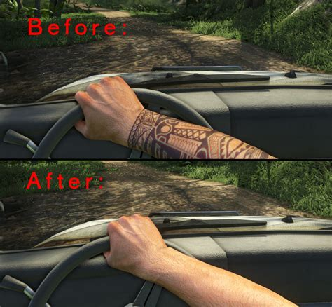 Remove Tribal Dlc Tattoo At Far Cry 3 Nexus  Mods And