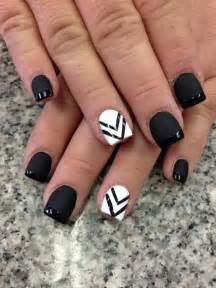 Wedding nail designs black and white art