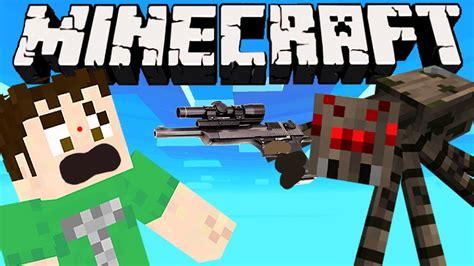 minecraft spider hitman youtube