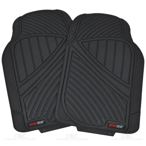 floor mats for cars flextough rubber car floor mats cargo set black heavy