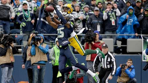 interceptions open packers seahawks nfc
