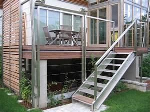 Carport Terrasse Kombination : stiegen stiegen aus metall metall tec ~ Somuchworld.com Haus und Dekorationen