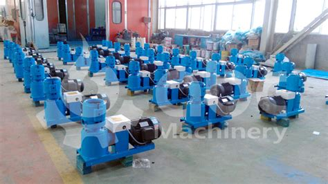 gemco small pellet machines for chicken feed exported to india