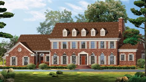 victorian style house georgian style homes house plans