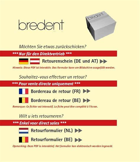 Auch der neuen bestellung lag kein. Retourenschein | bredent group GmbH & Co.KG