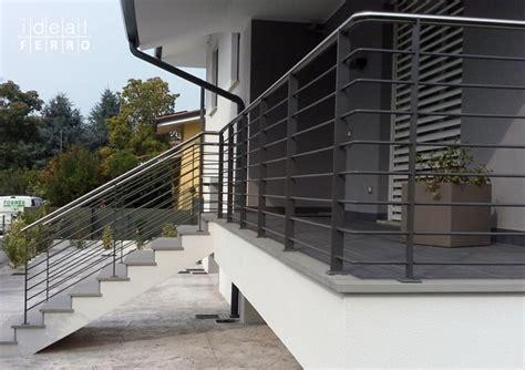 ringhiera esterna recinzione e ringhiera moderna idealferro