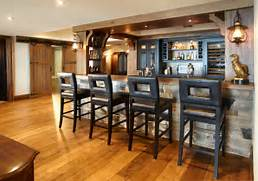 Rustic Home Bar Designs by The Drinks Are On The House Best Home Bars Terrys Fabrics 39 S Blog