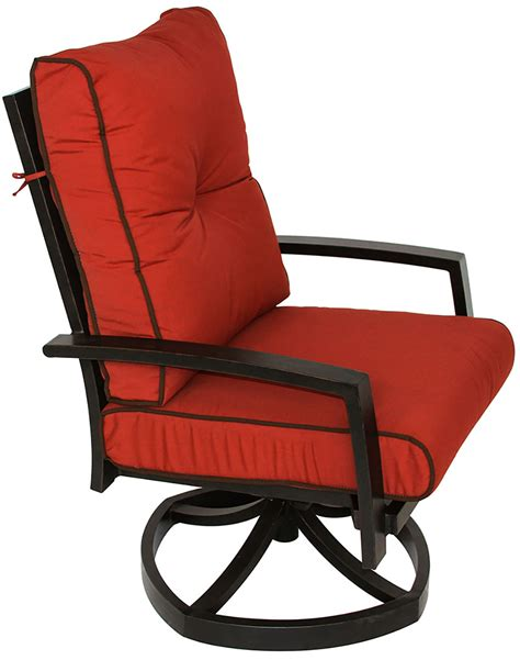 The only problem we had is with the payment method, which was supposed to be over 12 months and we recently got the bill and it is not on that plan. Quincy Cast Aluminum Outdoor Patio Swivel Rocker Chair ...