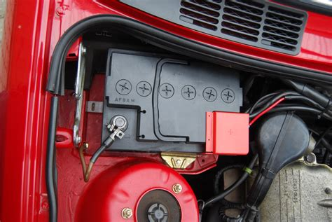 befestigung batterie motorraum allgemeines  talkcom