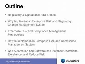 Risk and Regulatory Change Management - 360factors EUEC ...