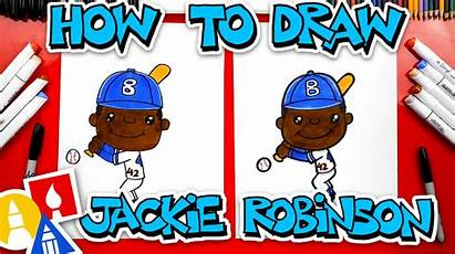 Jackie Robinson Draw Hub Learn